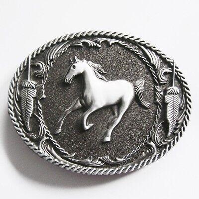 Original Western Horse Cowboy Rodeo Metal Belt Buckle