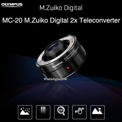Olympus MC-20 Genuine M.Zuiko Digital 2x Teleconverter 40-150mm PRO 300mm PRO