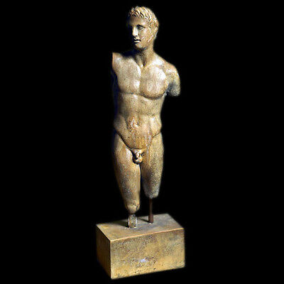 Alexander the Great Statue from Pella Museum in Macedonia replica reproduction
