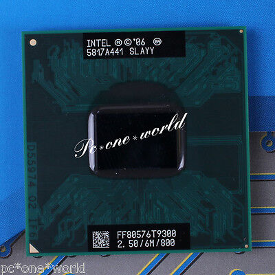 100% OK SLAYY Intel Core 2 Duo T9300 2.5 GHz Dual-Core Laptop Processor CPU