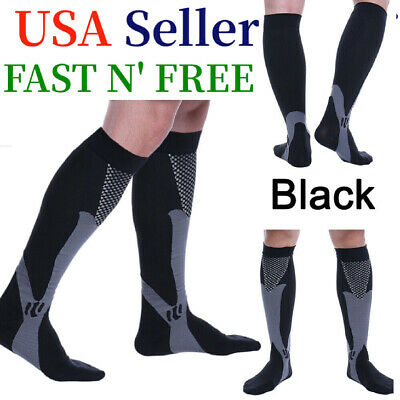 Compression Socks 20-30mmHg Best Copper Athletic Fit Shin Splints Men Women