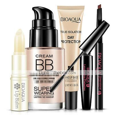 Foundation+Mascara / Eyebrow / Balm+Lip Balm Wet Eye / Lip / Face Coverage