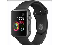 Apple Watch 42mm series 1 sport space grey.