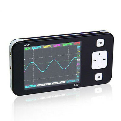 Portable Dso211 Digital Storage Oscilloscope Mini Nano Arm Pocket 200khz 1msas