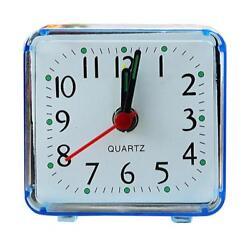 Fashion Square Small Bed Compact Travel Quartz Beep Alarm Clock