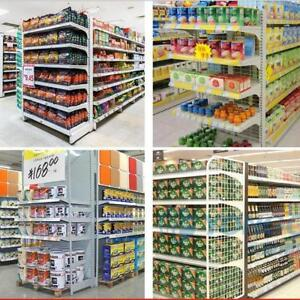 3 parts of Metal Shelving Rack For Store /Supermarket 1 main shelf and 2 vice-shelves(300139)