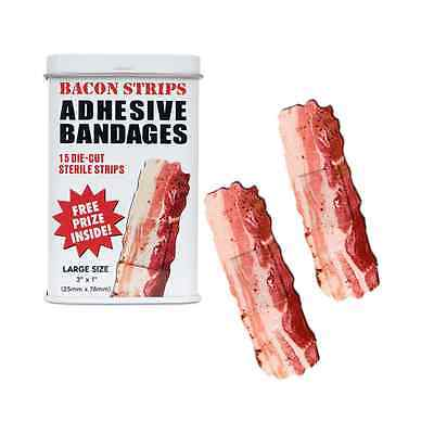 Bacon Strips Bandages Band Aids