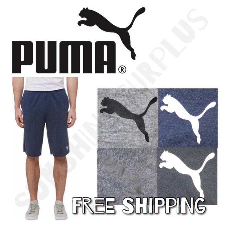 PUMA Men's French Terry Fleece Shorts - Super Soft - M - L -