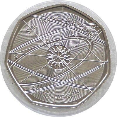 2017 Royal Mint Sir Isaac Newton 50p Fifty Pence Coin Uncirculated