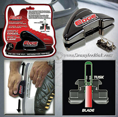 SALES! Hand-held manual hockey ice skate sharpener Edge Again