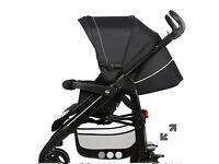 Silver Cross 3D Pram & Pushchair Plus Chicco Next to Me. Can be bought together or separately.