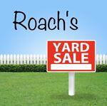 Roach's Yard Sale