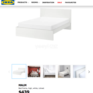 IKEA Double size bed with mattress