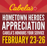 Cabela's Canada Hometown Heroes Event