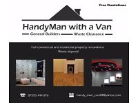 HandyMan- Commercial and residential renovations, waste removals, carpentry, electrical, plumbing
