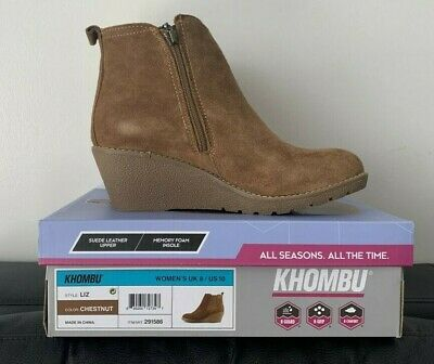 BRAND NEW Khombu Liz Chestnut Women's Boots (Size: UK 8)!