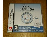 Nintendo DS Game Dr Kawashima's Brain Training As New Condition