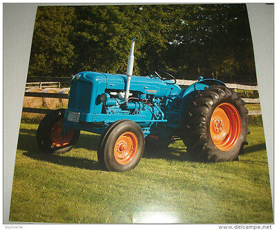 1951 Fordson E27N tractor print  for sale  Jackson