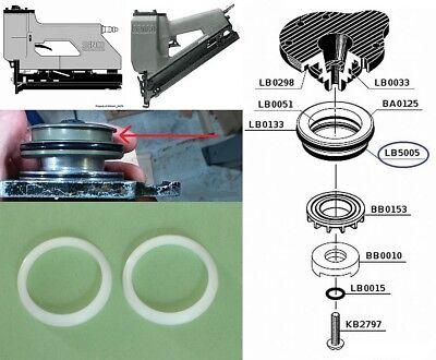 2 x Senco M1 M2 M3 MW SFN2 SC1 SC2 Firing Valve Seal's LB5005