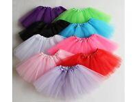 3 Layer Toddler Kids Girls Tutu skirt dress up Costume Party 3-9 year old