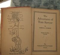 ANTIQUE BOOK - MARK TWAIN'S ADVENTURE OF TOM SAWYERS' ADVENTURES