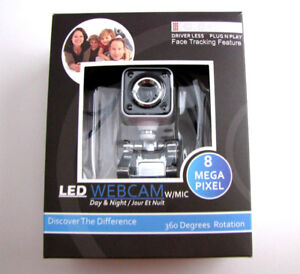 Kross  led webcam with Mic.