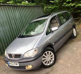 Vauxhall Zafira 2.0 DTI 16V**Elegance 7 Seater**ONLY 1Lady Owner,JUST 63k!**