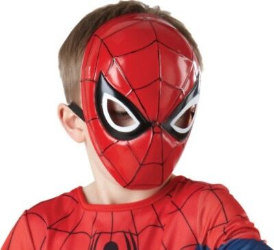 Marvel Ultimate Spider-Man Molded Face Mask, Child Size Costume Accessory