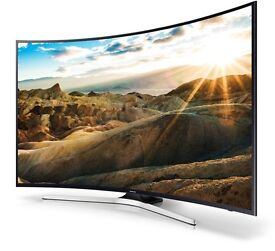 Samsung curved 4k UltraHD HDR Tv wi-fi warranty Apps Free Delivery
