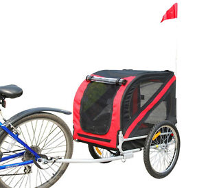 Pet Bike Trailer With Universal Hitch