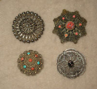 Collection of Vintage Woman's Brooches