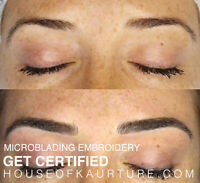 Microblading Embroidery  Course