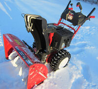 """~10hp -- 28"""" Cut ~ TROY-BILT Snowblower *Like NEW* Will Deliver!"""