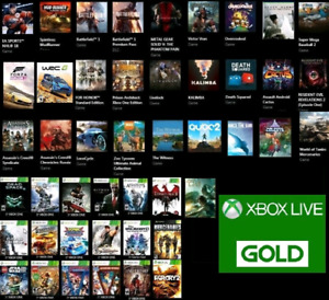Selling my XBOX One profile w 45 digital games and Live GOLD