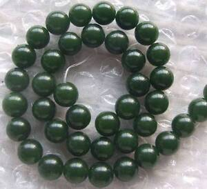 6mm 8mm 10mm 12mm 14mm 16mm Green jade Round Beads 15