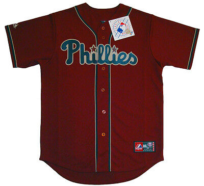 Philadelphia Phillies MLB Majestic Fashion Replica Jersey Size Medium NWT