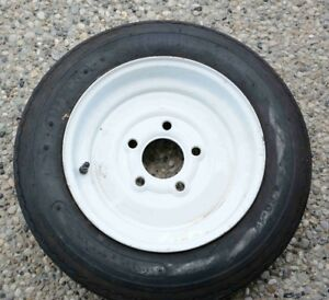 Boat Trailer Tire and Rim 480-12, 5 bolt pattern