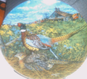 Collector Plates:  Upland Birds of North America series