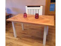 Oak Handmade Dining Table