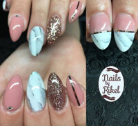 Nails by Rikel - hard gel nails with forms, overlays, gel polish