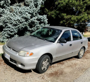 '99 Hyundai Accent - For parts or a lot of TLC