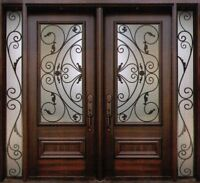 Wrought Iron & Stain Glass