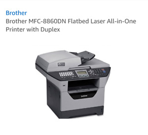 Brother MFC8860DN 4in1 laser printer