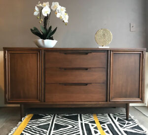 Midcentury Teak style Dresser/ Sideboard (delivery available)