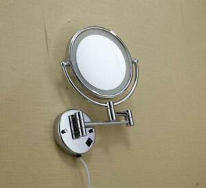 Round Beauty Makeup Cosmetic Mirror 110V(020143)