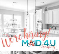 HIRING: Residential Cleaning Technician