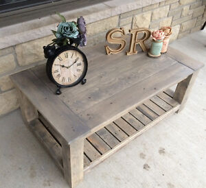 Rustic Country Chic Coffee tables with matching side tables Kingston Kingston Area image 9
