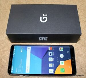 MINT 128GB LG G6+ FACTORY UNLOCKED+ALL Accessories+CALL/TEXT ME