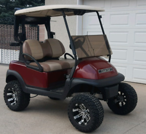 2015 Lifted Electric Club Car Precedent Golf Cart