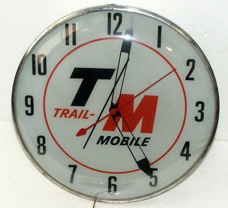 Pam Lighted Clock Ebay